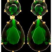 Zelene Naušnice - Earrings -