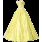 Zuta Haljina - Dresses -