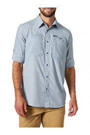 ATG by Wrangler Men's Long Sleeve Hike to Fish Shirt, Bering Sea, X-Large - My look - $39.00