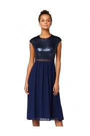 Amazon Brand - Truth & Fable Women's Lace Trim Bridesmaid Midi Dress - Il mio sguardo - $58.10  ~ 49.90€