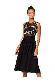 Amazon Brand - Truth & Fable Women's Lace Trim Bridesmaid Midi Dress - Il mio sguardo - $62.01  ~ 53.26€