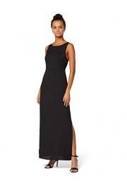 Amazon Brand - Truth & Fable Women's Maxi Satin A-Line Dress - Il mio sguardo - $65.00  ~ 55.83€