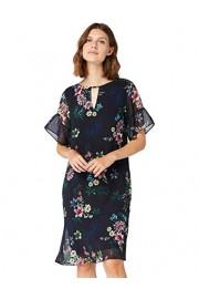Amazon Brand - Truth & Fable Women's Midi Chiffon A-Line Dress - Il mio sguardo - $55.00  ~ 47.24€