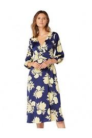 Amazon Brand - Truth & Fable Women's Midi Floral A-Line Dress - Il mio sguardo - $70.00  ~ 60.12€