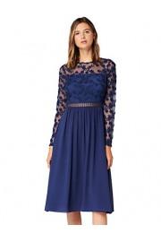 Amazon Brand - Truth & Fable Women's Mini Lace Embroidery A-line Dress - Il mio sguardo - $74.47  ~ 63.96€