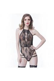 Angelkiss Lingerie For Women Teddy One Piece Lace Babydoll Bodysuit - Il mio sguardo - $14.99  ~ 12.87€