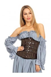Anna-Kaci Women's Boned Underbust Steampunk Renaissance Strappy Waist Corset - My look - $65.99