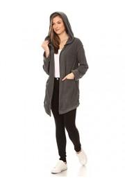 Anna-Kaci Womens Coat Lightweight Casual Long Sleeve Sweater Hoodie Cardigan Jacket - My look - $59.99