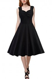 Babyonlinedress Women's Audrey Herburn Retro Elegant Strap Evening Prom Dress - Моя внешность - $24.99  ~ 21.46€