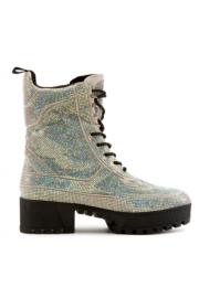 Bedazzled Combat boots - Mój wygląd -