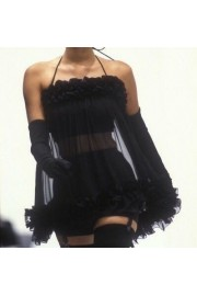Black dress - Moj look -