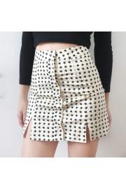 Black love pattern fashion single-breast - My look - $25.99