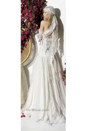 Boho Wedding Dress - My look -