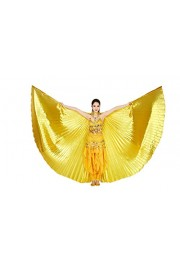 CISMARK Isis Wings Belly Dance Costume Prop (Closed Back) NO Sticks - O meu olhar - $15.99  ~ 13.73€
