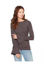 Cable Stitch Women's Bell Cuff Sweater - My look - $49.50
