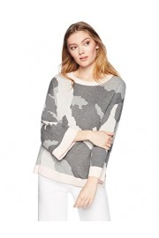 Cable Stitch Women's Camo Jacquard Sweater - My look - $49.50