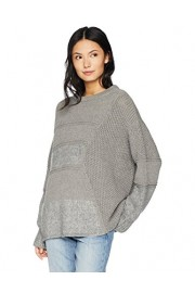 Cable Stitch Women's Mixed Stitch Long-Sleeve Sweater - My look - $59.50
