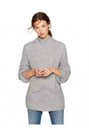 Cable Stitch Women's Mock Neck Pullover Sweater - My look - $59.50