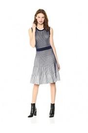 Cable Stitch Women's Sleeveless Pleat Dress - My look - $74.50