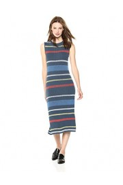 Cable Stitch Women's Stripe Ribbed Tank Dress - My look - $64.50