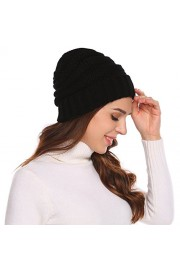 Chigant Knit Beanie Headwear - Warm Stretchy Soft Beanie Hats for Men & Women - Il mio sguardo - $11.75  ~ 10.09€
