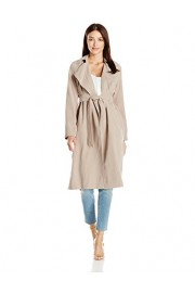 Cole Haan Women's Drapey Loose Belted Trench - My look - $169.99