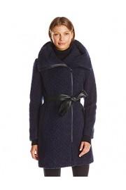 Cole Haan Women's Signature Boucle Oversized Collar Coat - My look - $113.36