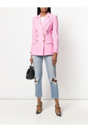 D&G pink blazer and jeans - Mi look -
