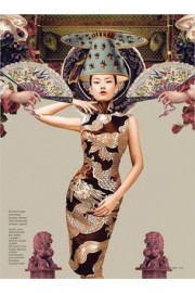 Dara by Ryan Tandya for Dewi Magazine - Passarela -