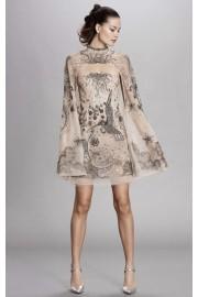 Dennis Basso Fall Dress - My look -