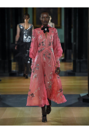 ERDEM  Zelena Astaire-beaded silk-organz - ファッションショー -