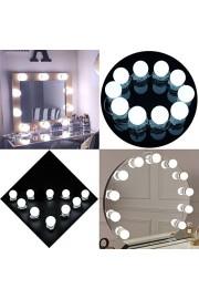 Eco-Mate Hollywood Style LED Makeup Vanity Mirror Light Kit - My photos - $25.99
