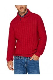 Esprit Men's Cable Knit Cotton Sweater - My look - $96.39