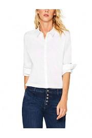 Esprit Women's Concealed Button Placket Shirt - Myファッションスナップ - $81.15  ~ ¥9,133