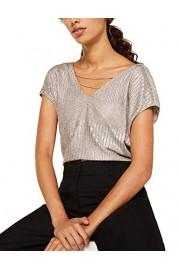 Esprit Women's Glitter Effect T-Shirt - Myファッションスナップ - $81.15  ~ ¥9,133
