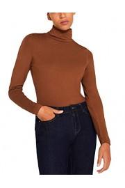 Esprit Women's Stretch Polo Neck Top - Myファッションスナップ - $73.52  ~ ¥8,275