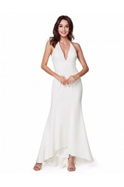 Ever-Pretty Sexy Formal Elegant Vneck Sleeveless Women Bridesmaid Dresses 07230 - My look - $84.99