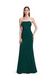 Ever-Pretty Women's Elegant Lace Strapless Off-Shoulder Floor-Length Evening Dresses Party Dress Christmas Dress 07187 - My look - $84.99