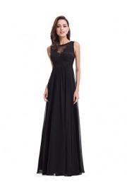 Ever-Pretty Women's Elegant Round Neck Long Evening Dress 08715 - My look - $89.99