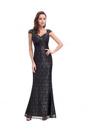 Ever-Pretty Womens Short Sleeve Long Elegant Military Ball Evening Dress - My look - $82.99