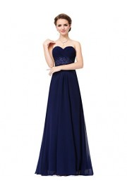 Ever-Pretty Women's Strapless Long Evening Dress with Sweetheart Neckline 08864 - My look - $85.99