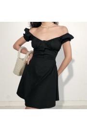 French cut single-breasted dress - My时装实拍 - $35.99  ~ ¥241.15