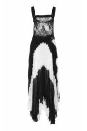 Givenchy Asymmetric Silk-Georget And Lac - My look - $7,990.00
