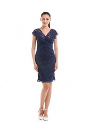 GownTown Womens Dresses 1950s Dresses Lace Prom Party Dresses - My look - $6.99