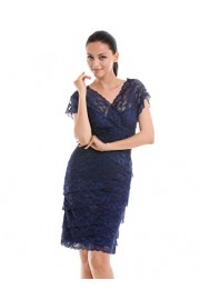 GownTown Womens Prom Dresses Lace Dresses Party Dresses - My look - $9.99