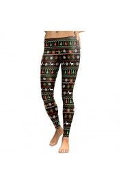 Idingding Women's Halloween Christmas Graphic Printed Stretchy Leggings Pants - Il mio sguardo - $25.99  ~ 22.32€