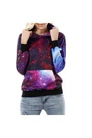 Idingding Women's Men's Realistic 3d Digital Galaxy Star Printed Pullover Sweatshirts Hoodies - Il mio sguardo - $31.99  ~ 27.48€