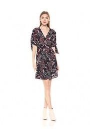 Jessica Simpson Women's Brooklyn Tie Short Sleeve Printed Dress - Myファッションスナップ - $45.78  ~ ¥5,152