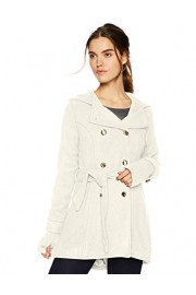 Jessica Simpson Women's Double Breasted Wool Fashion Coat - Moj look - $90.84  ~ 577,07kn