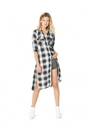 Jessica Simpson Women's Pixel Button Down Duster Shirt - Myファッションスナップ - $44.40  ~ ¥4,997